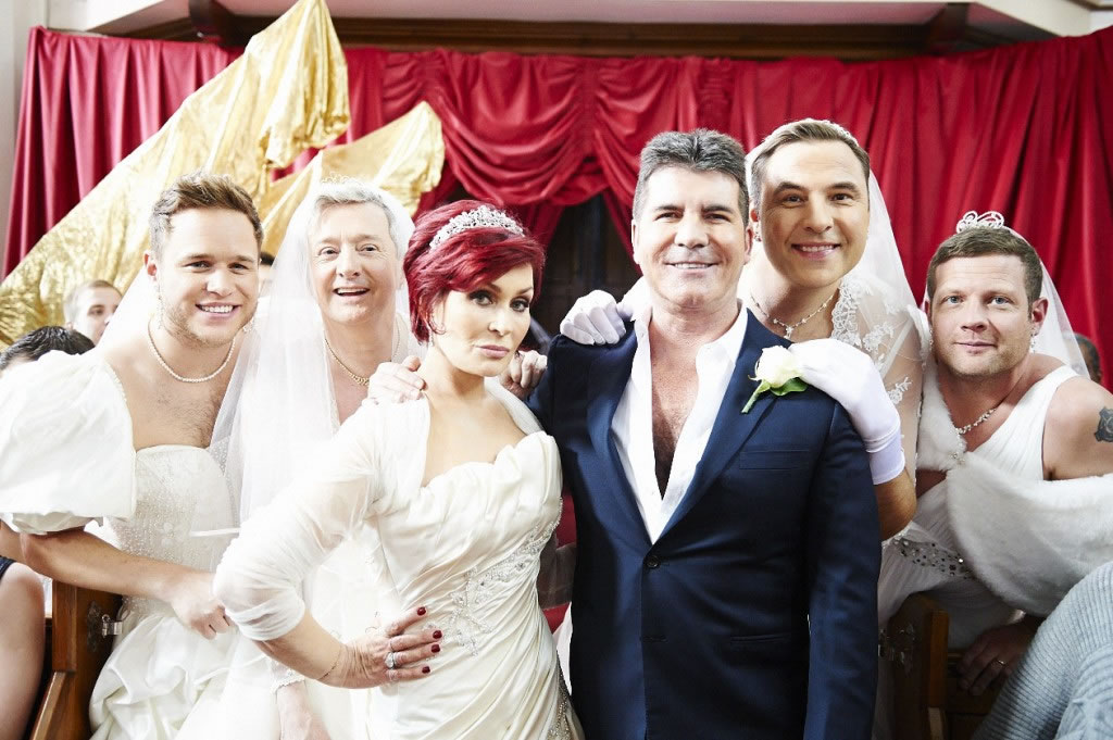 Red Nose Day 2013 Simon Cowell's Wedding
