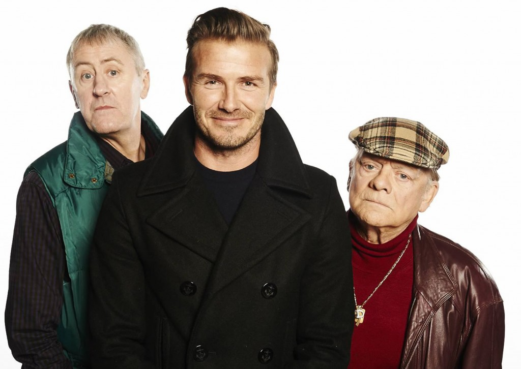 Sports relief Only Fools and Horses with David Beckham